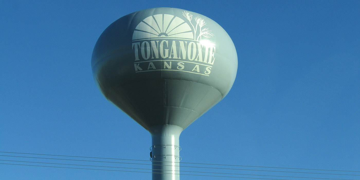 Tonganoxie Water Tower