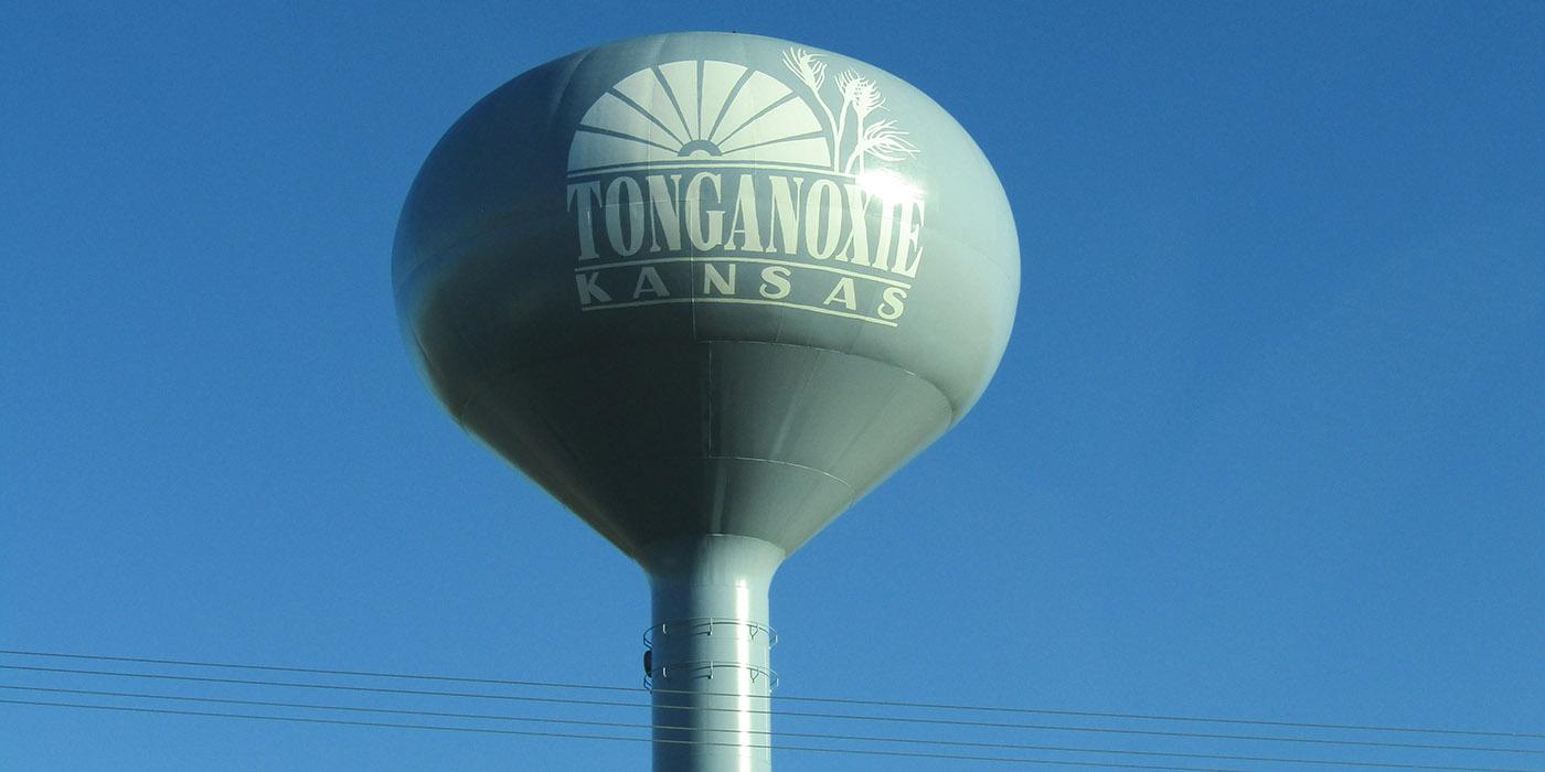 Tonganoxie Water Tower