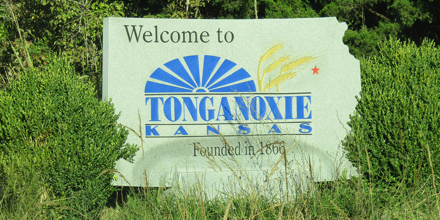 Welcome to Tonganoxie